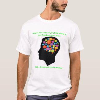 ADHD expresa la camiseta de la conciencia