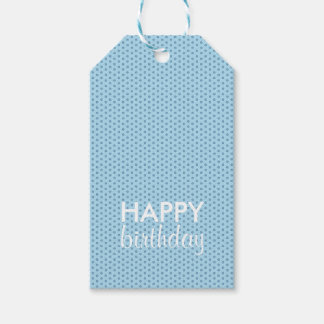Adherente de regalo azul etiquetas para regalos