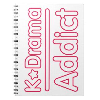 Adicto a KDrama Cuaderno