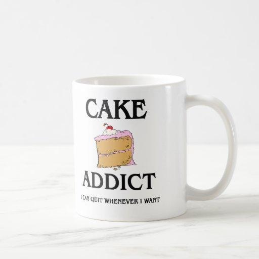 Adicto a la torta taza