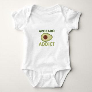 Adicto al aguacate body para bebé