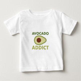 Adicto al aguacate camiseta de bebé