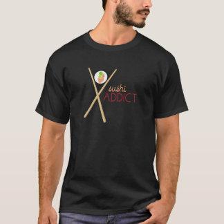 Adicto al sushi camiseta