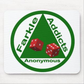 Adictos a Farkle anónimos Alfombrilla De Ratón