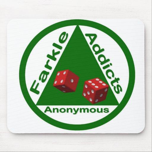 Adictos a Farkle anónimos Alfombrilla De Raton