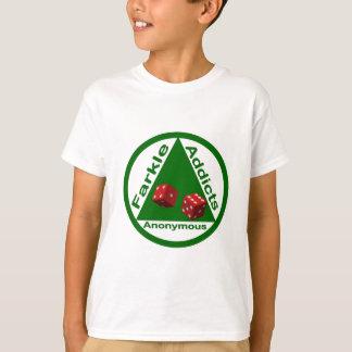 Adictos a Farkle anónimos Camisetas