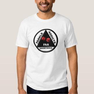 Adictos a Farkle anónimos (versión 2010) Camisas