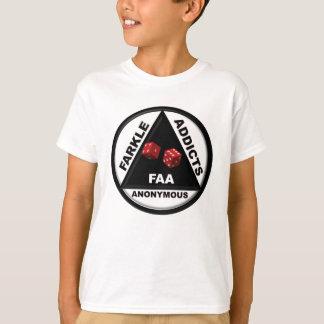 Adictos a Farkle anónimos (versión 2010) Camiseta