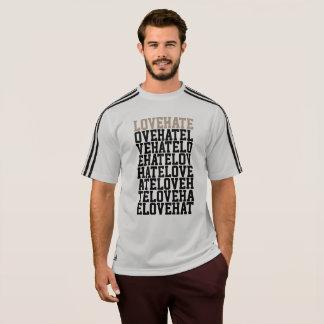 Adidas DE AMOR Y ODIO 3 de los hombres raya la Camiseta