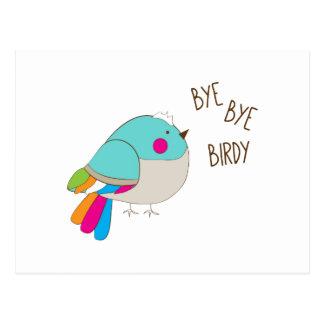 Adiós Birdy Tarjeta Postal