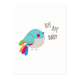 Adiós Birdy Postales