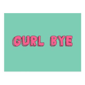 Adiós de Gurl de la postal