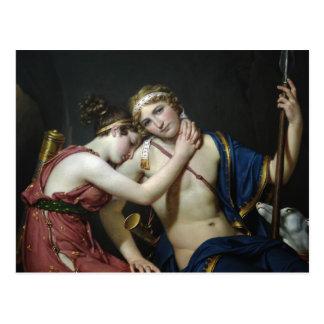 Adiós de Jacques David de Telemachus y de Eucharis Tarjetas Postales