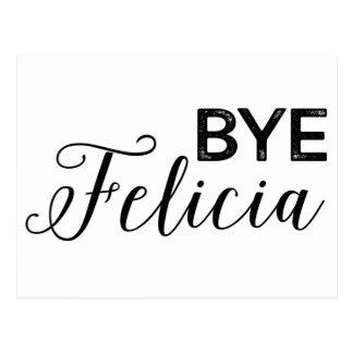 Adiós Felicia Postal