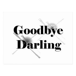 Adiós querido (postal clear2) postal