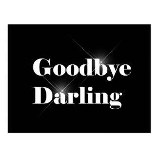 Adiós querido (postal del negro 1)