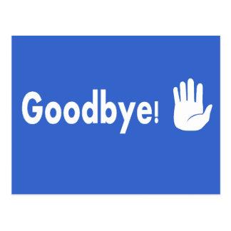 ¡Adiós! Postal