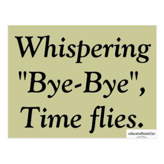 """""""Adiós"""" - una verdad Postal"""
