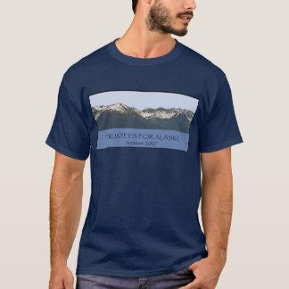 Administradores para el interno legal de Alaska Camiseta