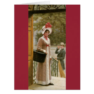 Admiración 1904 tarjeta de felicitación grande
