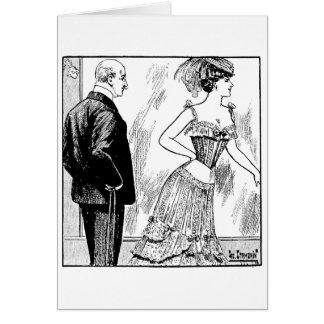 Admiración de la visión tarjeta de felicitación