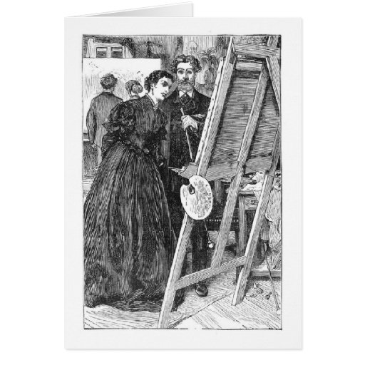 Admiración de las ilustraciones, tarjeta de felici