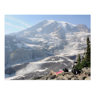 Admiración del Monte Rainier, Seattle Tarjetas Postales
