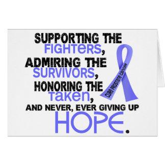 Admiración favorable honrando al cáncer de próstat felicitacion