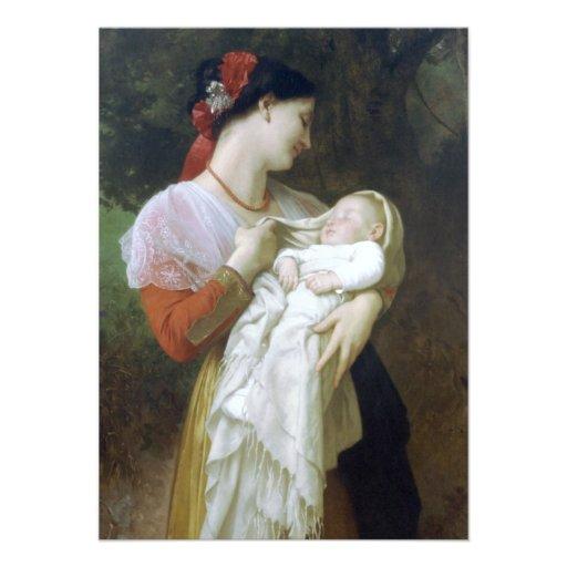 Admiración maternal de Guillermo Adolfo Bouguereau Anuncios Personalizados