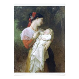 Admiración maternal invitación 12,7 x 17,8 cm