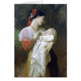 Admiración maternal tarjeton