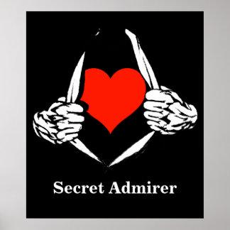 Admirador secreto póster