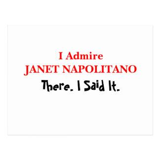 Admiro a Janet Napolitano Postal