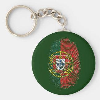 ADN Português (DNA) - Tugas Camisas e Presentes Llavero Redondo Tipo Chapa