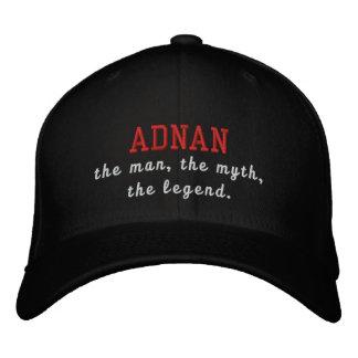 Adnan el hombre, el mito, la leyenda gorra bordada