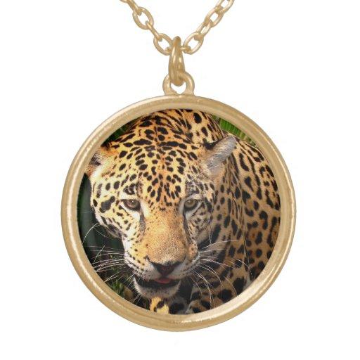 Adolescente de Jaguar Pendientes