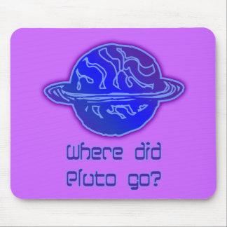 ¿Adónde Plutón fue? Alfombrilla De Ratón