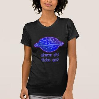 ¿Adónde Plutón fue? Camisetas