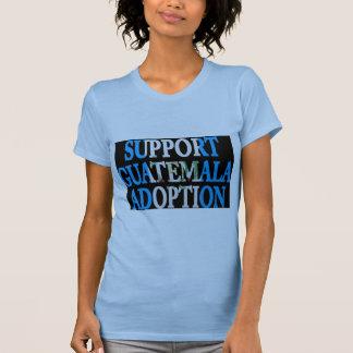 adopción de Guatemala de la ayuda Camisetas