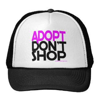 ¡Adopt no hace compras! ¡Esfuerzos de rescates de  Gorros Bordados