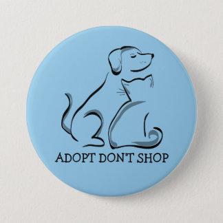 Adopt no hace compras gato del perro, LG botón