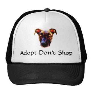 Adopt no hace compras gorra del camionero