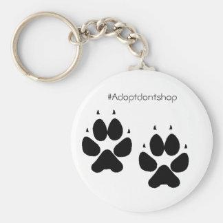 #adoptdontshop de los pies del perrito del llavero