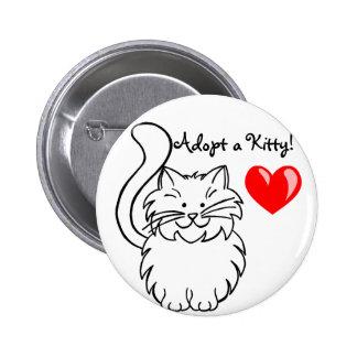 Adopte un botón del gatito