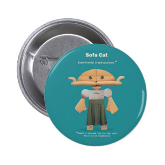 ¡ADOPTE UN CAT RESCATADO! CHAPA REDONDA DE 5 CM