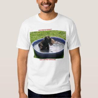 Adopte un galgo jubilado camiseta