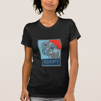 Adopte una camiseta del perro