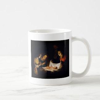 Adorazione del Bambino Adoration del niño Taza De Café