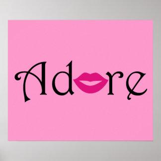 rosado Beso negro