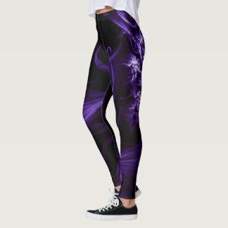Adore las polainas púrpuras místicas leggings